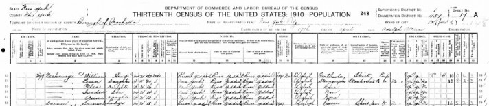 1910 Federal Census - Neckameyer