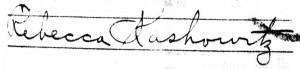 Kashowitz on Marriage Certificate #2