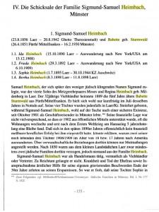 Stadtführer zu Orten ehemaligen jüdischen Lebens in Rheine